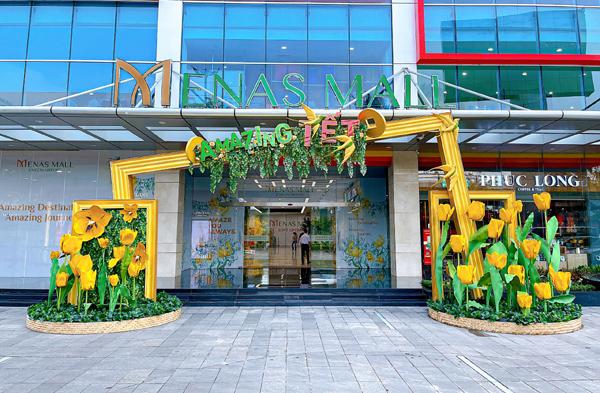 Đón năm mới 'diệu kỳ' ở Menas Mall Saigon Airport