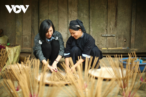 Incense-making craft of Nung ethnic group in Cao Bang