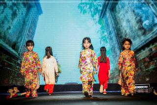 Lễ hội áo dài trẻ em Việt Nam diễn ra tại 3 thành phố lớn