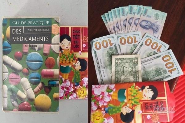 Mượn sách thư viện, nữ sinh lớp 7 phát hiện bao lì xì chứa đô la