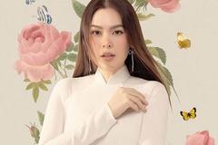 Người đẹp Phương Lê nền nã trong tà áo dài truyền thống