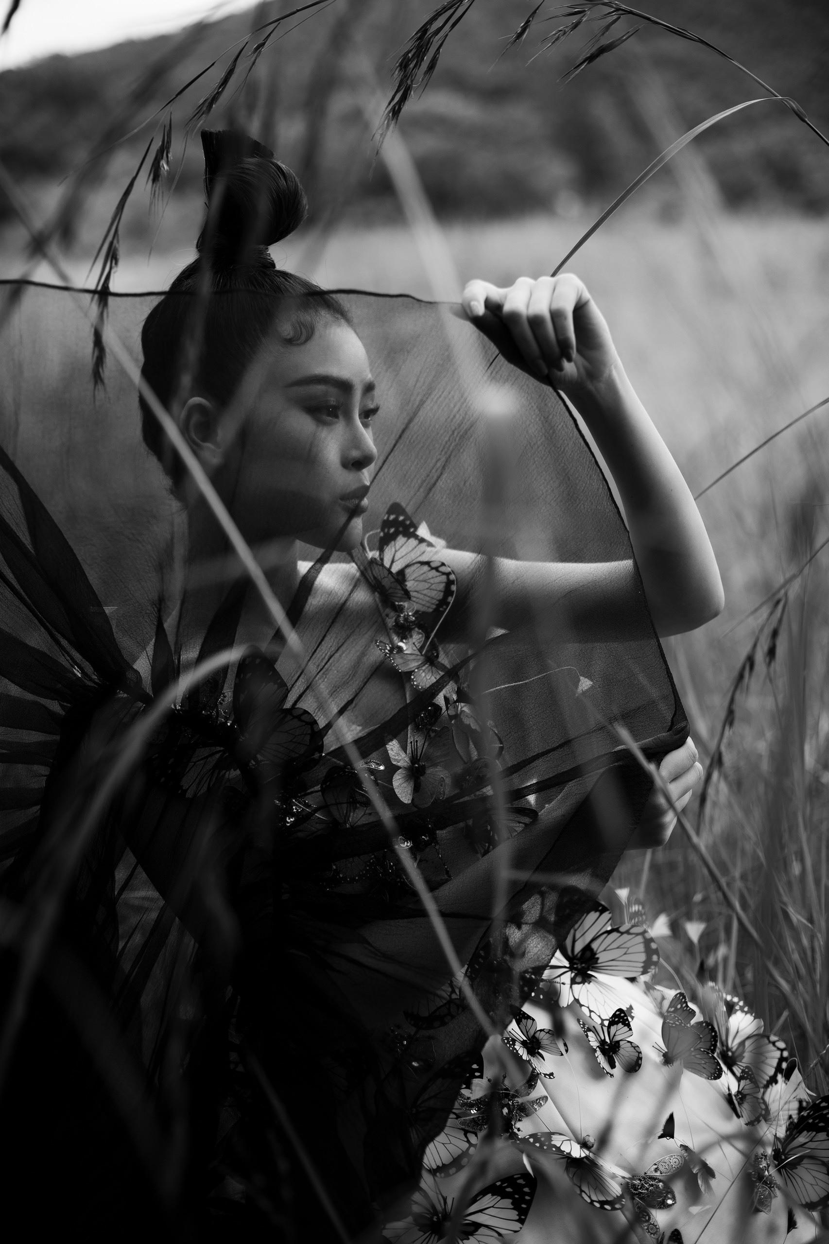 Lý Kim Thảo lên Đà Lạt chụp ảnh trong thời tiết giá lạnh