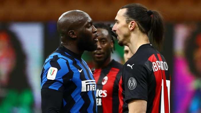 Lukaku và Ibrahimovic thóa mạ, 'húc' nhau ở Inter 2-1 Milan