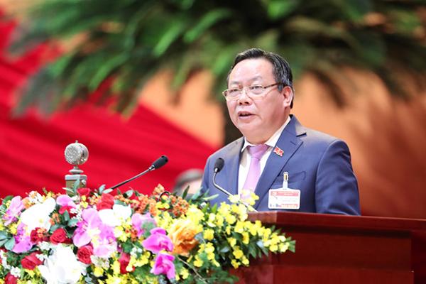 Toàn văn bài tham luận của Phó Bí thư Hà Nội Nguyễn Văn Phong tại Đại hội XIII