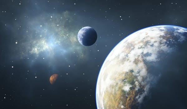 Sự sống trên Trái Đất tồn tại hàng tỷ năm nhờ may mắn - mega 655
