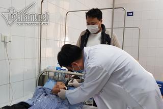 Bé trai Hà Nội bị chó béc giê cắn rách mặt