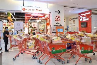 Lotte Mart lấp đầy hàng Tết, giá tốt, khuyến mại 'khủng'
