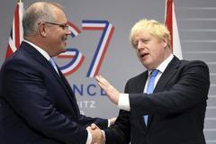 Đề xuất 'xoay trục' khối G7 sang châu Á của Anh gây phản ứng dữ dội
