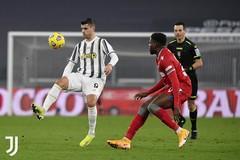 Morata lập công, Juventus đại chiến Inter ở bán kết