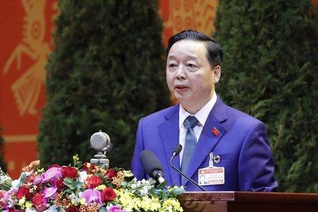 Tham luận của Ban cán sự Đảng Bộ Tài nguyên và Môi trường tại Đại hội XIII