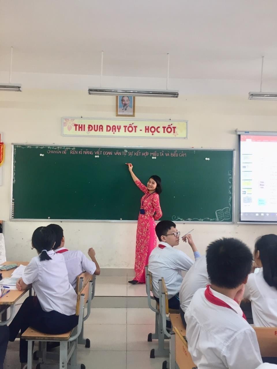 Cô giáo lớp 6 'đo' lòng phụ huynh bằng 20 câu hỏi