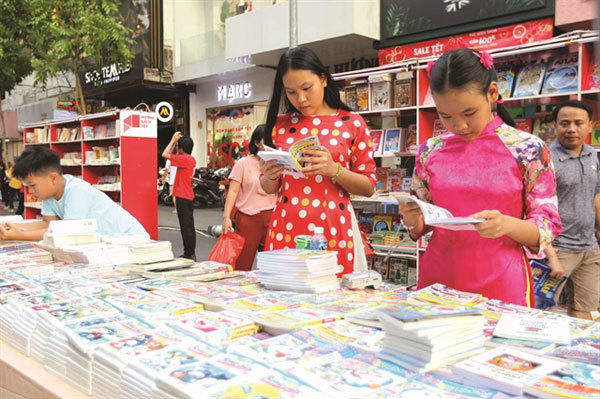Annual Tet book fair to open in downtown HCM City