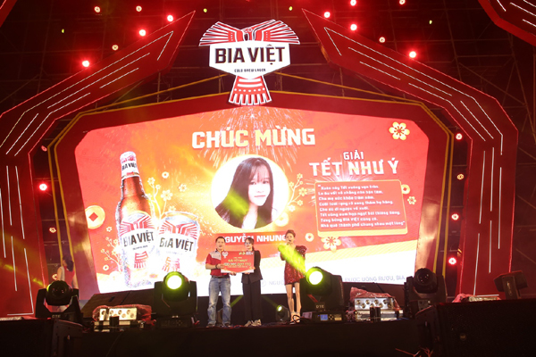 Bia Việt mang 'Vạn lời chúc như ý' đến mọi miền Tổ quốc