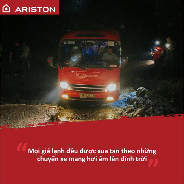 3 tháng lan toả tinh thần vì cộng đồng của 'biệt đội' Ariston