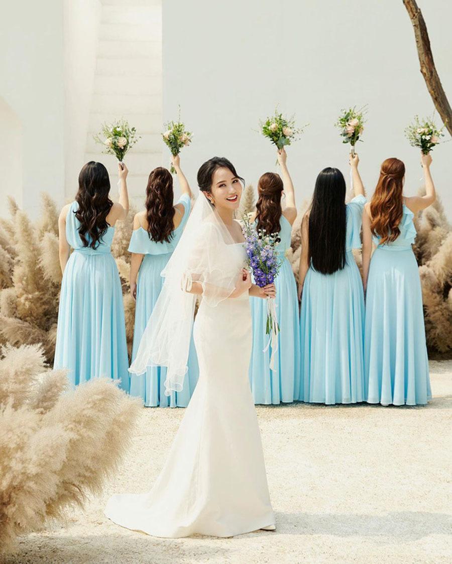 Dàn phù dâu hoa hậu, hot girl trong đám cưới Primmy Trương, Phan Thành