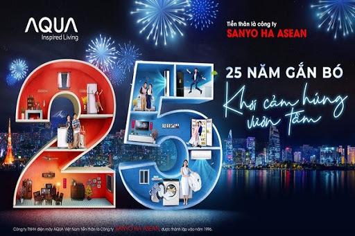 Aqua Việt Nam - 25 năm không ngừng 'khơi nguồn cảm hứng sống'