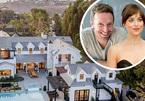 Mỹ nhân '50 sắc thái' sống cùng bạn trai hơn 12 tuổi ở biệt thự 300 tỷ