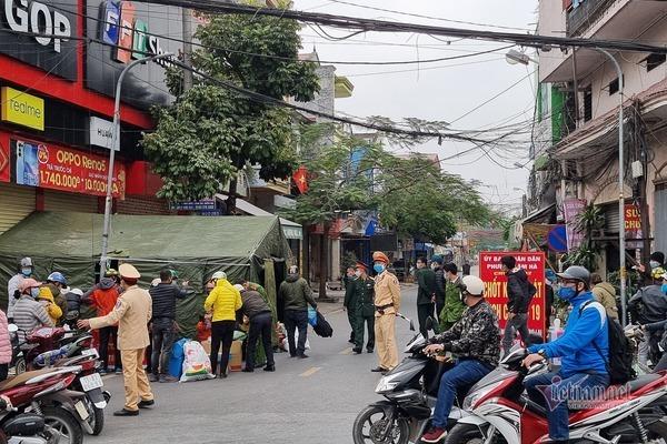 Hải Dương: Phong toả, cách ly y tế 21 ngày toàn TP Chí Linh