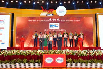 Hợp Nhất HNC vào Top 5 công ty chuyển phát nhanh uy tín năm 2020