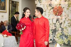 Ảnh cưới ngọt ngào của Phan Thành, Primmy Trương tại nhà riêng