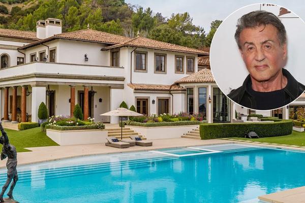 Sao 'Rambo' rao bán dinh thự khủng giá 2424 tỷ