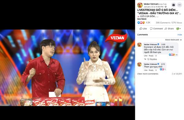 Vedan - Đấu trường gia vị cán mốc 10.000 người xem và livestream
