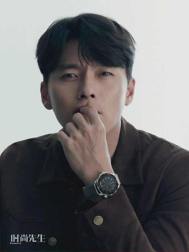 Hyun Bin bối rối trước câu hỏi về bạn gái Son Ye Jin