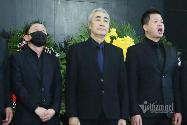 NSND Quang Thọ, Đăng Dương hát vang 'Tình ca' tiễn NSND Trung Kiên