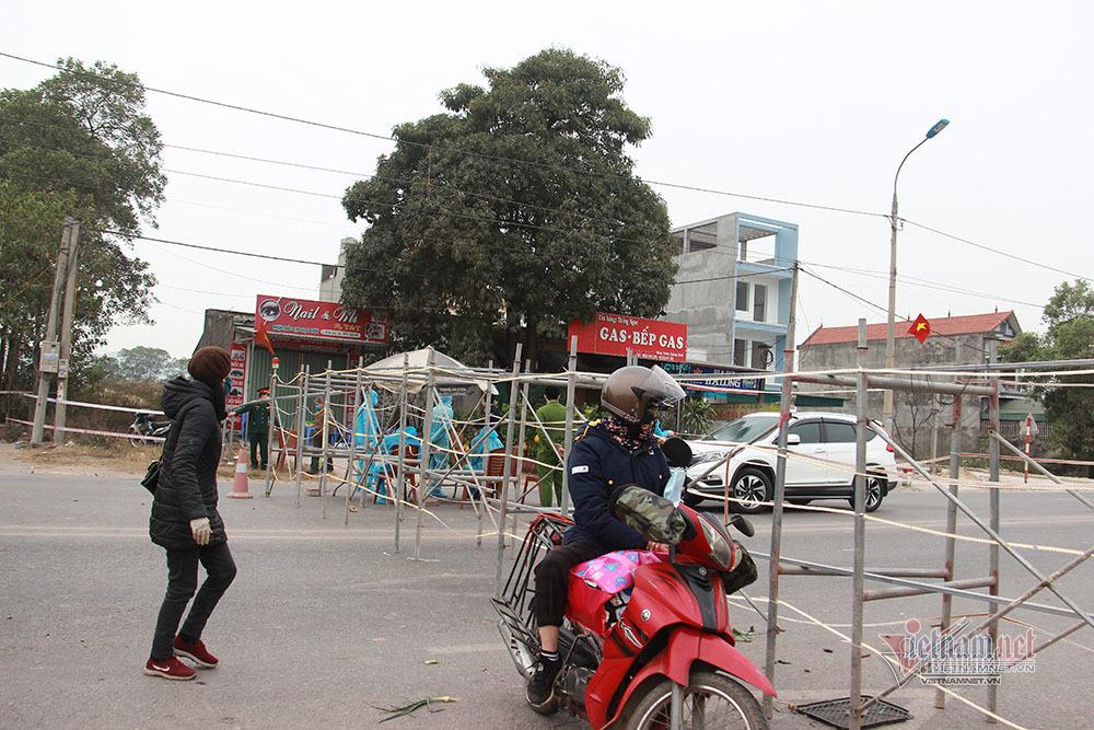 Phong toả thêm 1 xã gần TP Chí Linh do phát hiện ca nhiễm mới