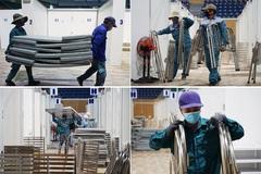 Đà Nẵng tháo dỡ bệnh viện dã chiến đưa ra Hải Dương phục vụ chống dịch