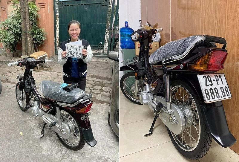 Dân chơi Hà Nội chi 600 triệu mua lại xe Dream Việt biển ngũ 8