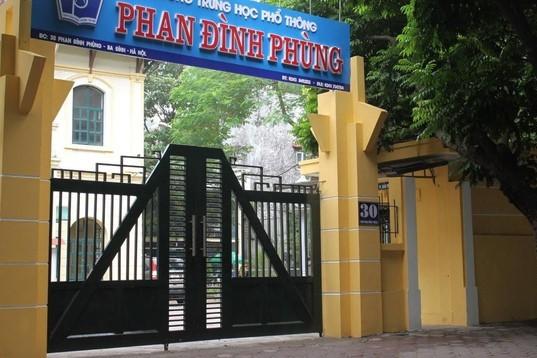 Học sinh diện F1 Trường THPT Phan Đình Phùng âm tính với SARS-CoV-2