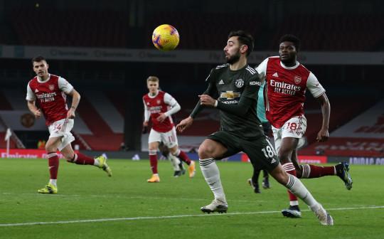 MU bế tắc trước Arsenal, Bruno Fernandes lại bị chê trách