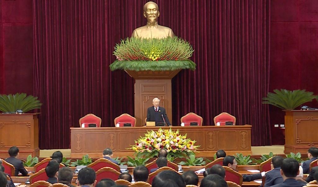 Hình ảnh Hội nghị lần thứ nhất Ban Chấp hành Trung ương khóa XIII
