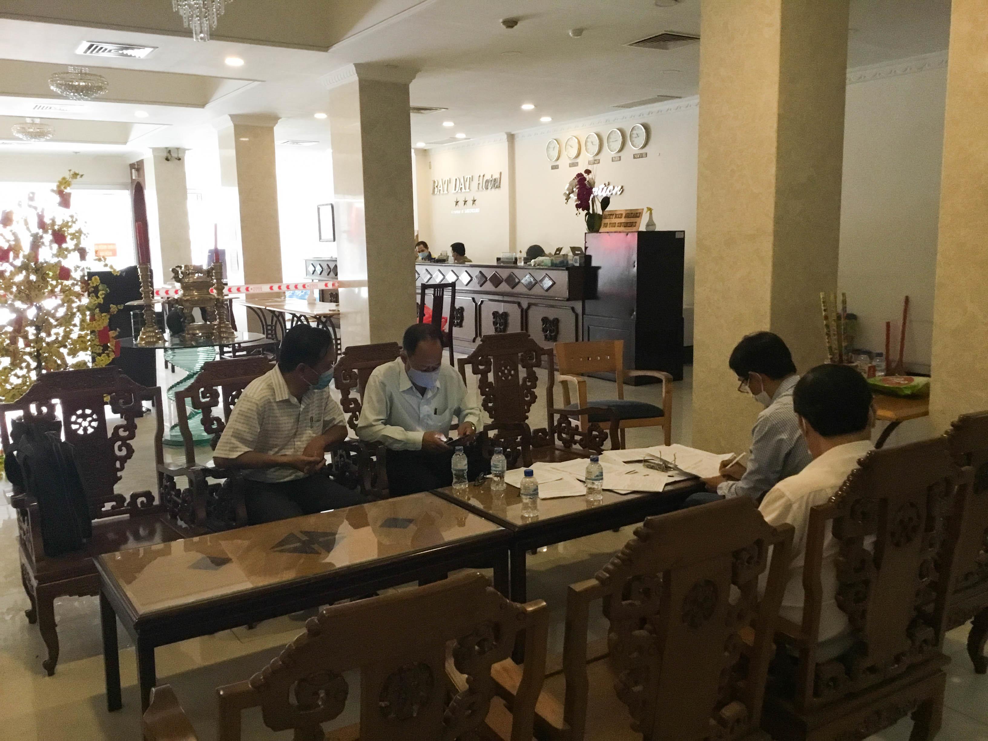 TP.HCM tăng cường kiểm tra cách ly tại các khách sạn