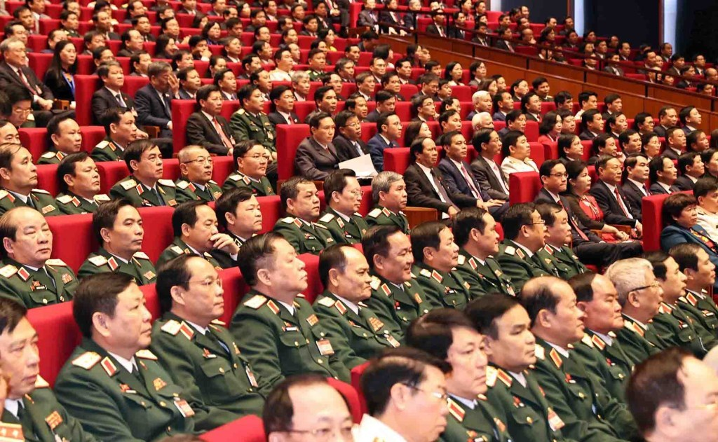 29 tướng lĩnh quân đội, công an trong Trung ương khóa XIII