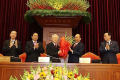 Mr. Nguyen Phu Trong re-elected as Party General Secretary of 13th tenure
