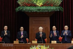 18 newly-elected Politburo members of the 13th tenure
