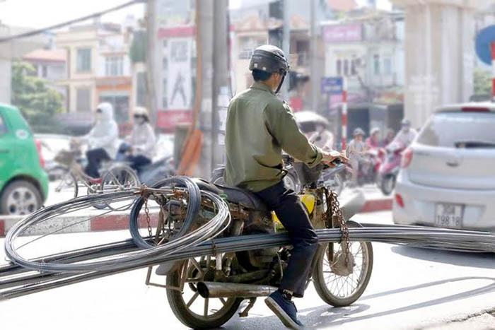 Thu hồi xe máy cũ: Vẫn bế tắc