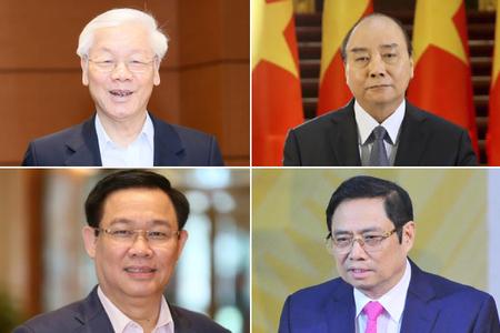 Quê quán của 18 ủy viên Bộ Chính trị khóa XIII