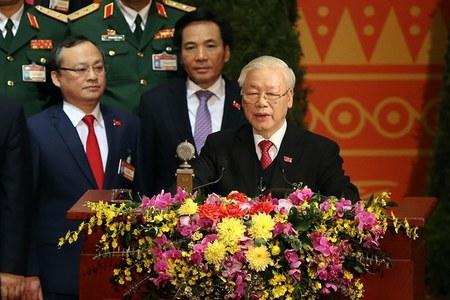 Toàn văn phát biểu của Tổng Bí thư Nguyễn Phú Trọng bế mạc Đại hội XIII