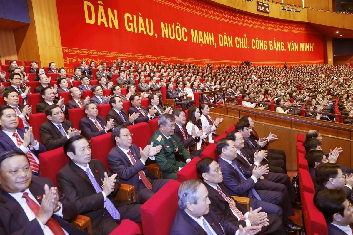 13th National Party Congress,Nguyen Phu Trong