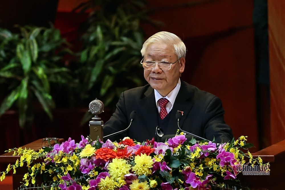 Nguyen Phu Trong,Party Central Committee,13th national party congress