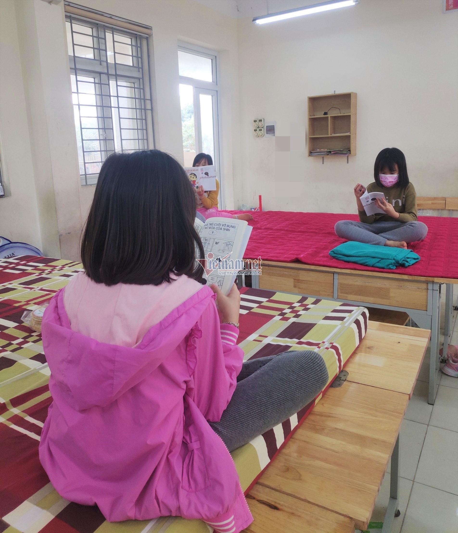 Dòng tin nhắn cảm động trong khu cách ly của học trò Hà Nội