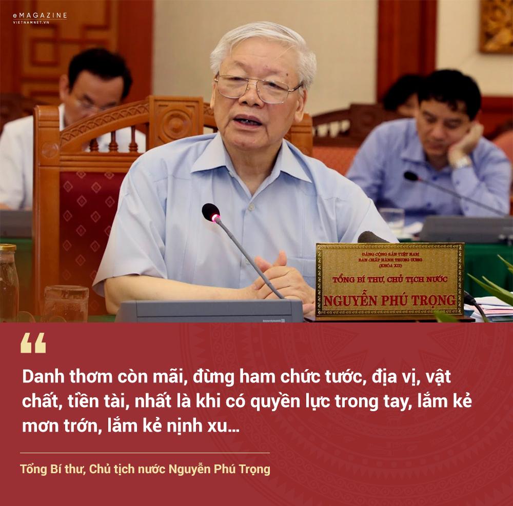 Tổng bí thư,Chủ tịch nước,Nguyễn Phú Trọng,tham nhũng