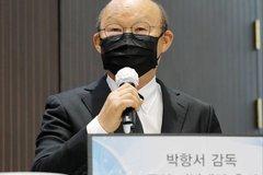 HLV Park Hang Seo trở về Hàn Quốc chịu tang bố vợ