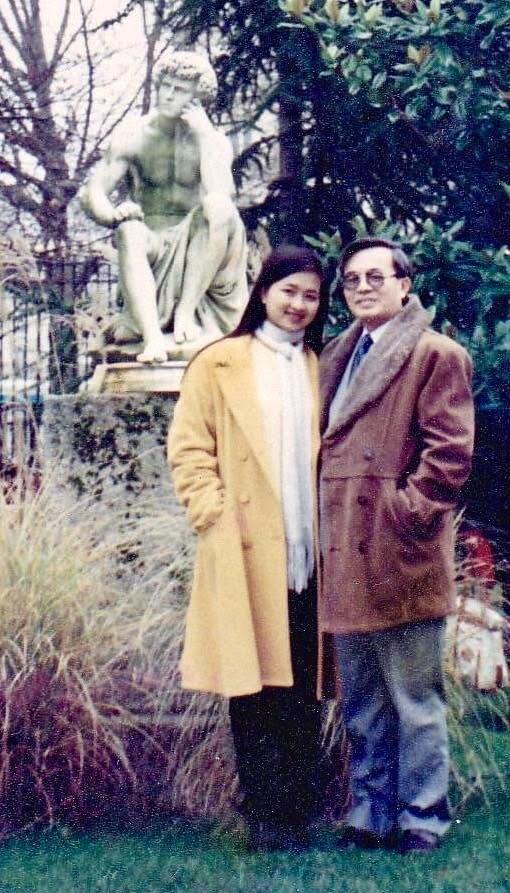 Bài học sâu sắc mà GS Phan Đình Diệu dạy con gái