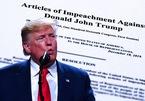 Ông Trump sắp bị Thượng viện Mỹ kết tội?