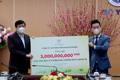 Ecopark ủng hộ 13 tỷ đồng phòng chống dịch Covid-19