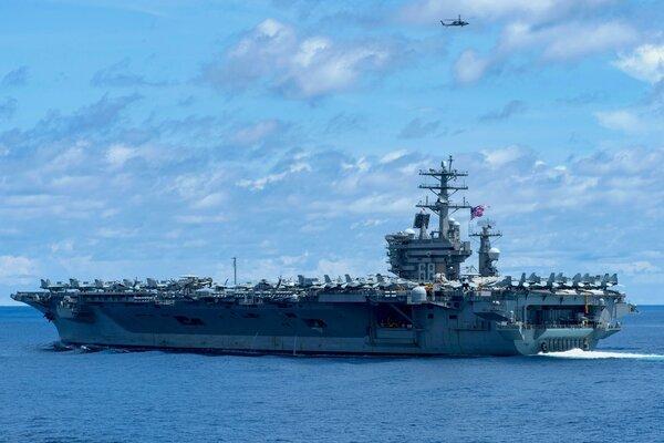 Mỹ rút cụm tàu sân bay triển khai gần Iran